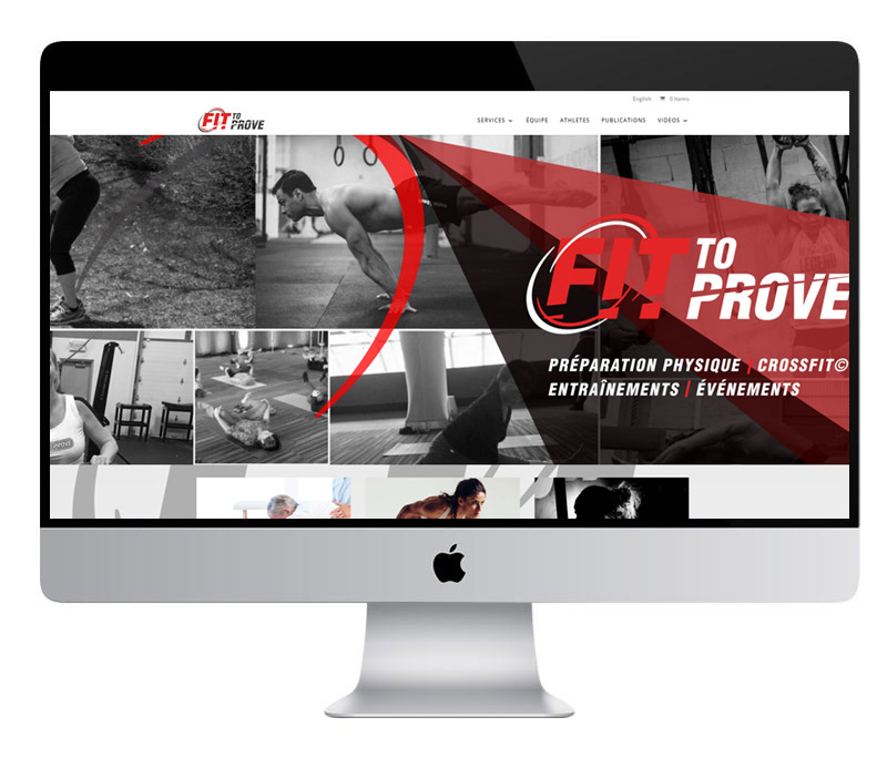 fit to prove. Site internet complet transactionnel